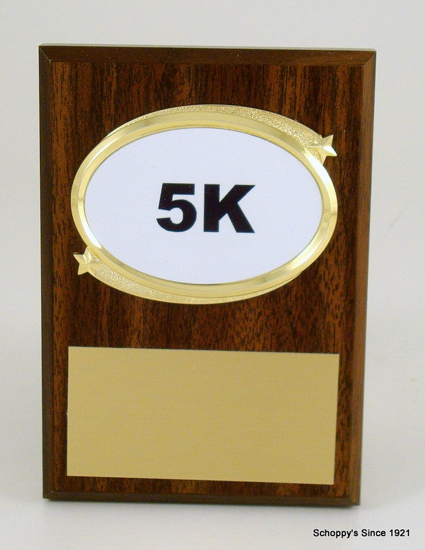 Distance Running Plaque-Plaque-Schoppy's Since 1921