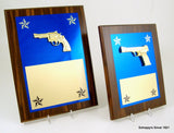 Gun Plaque With Custom Options-Plaque-Schoppy's Since 1921