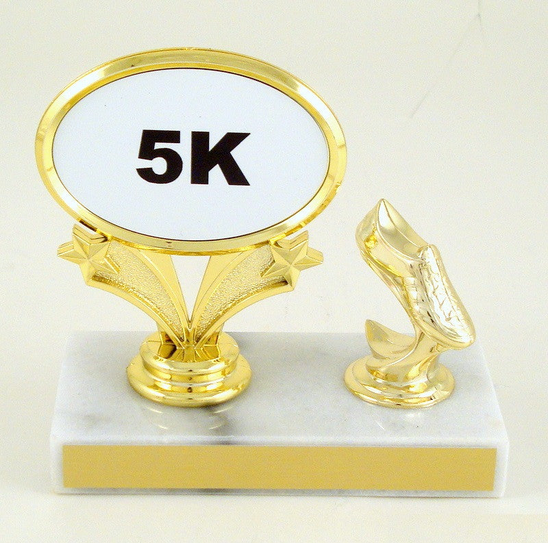 Distance Running Trophy With Shoe