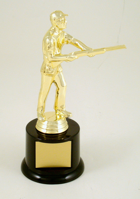 Skeet Shooter Trophy on Black Base-Trophy-Schoppy's Since 1921