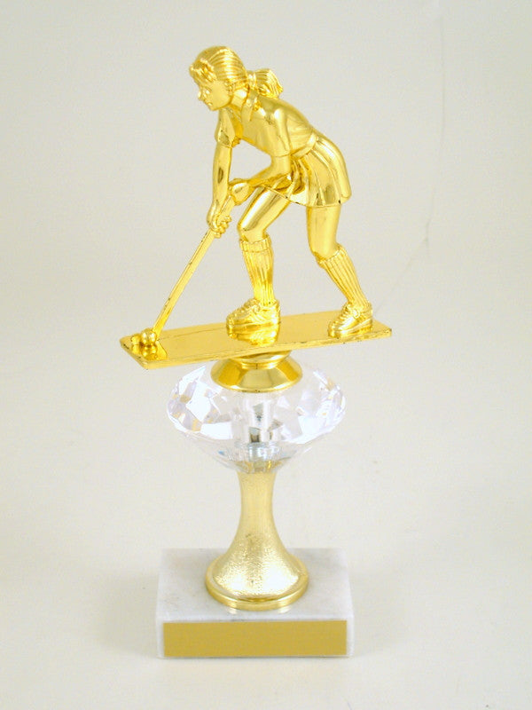 Field Hockey Trophy on Diamond Riser-Trophy-Schoppy's Since 1921