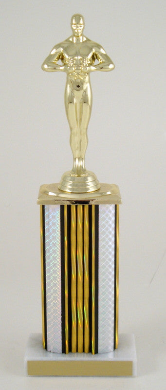 Achievement Trophy Wide Column