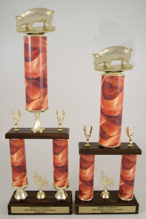 Bacon Trophy on Two Column