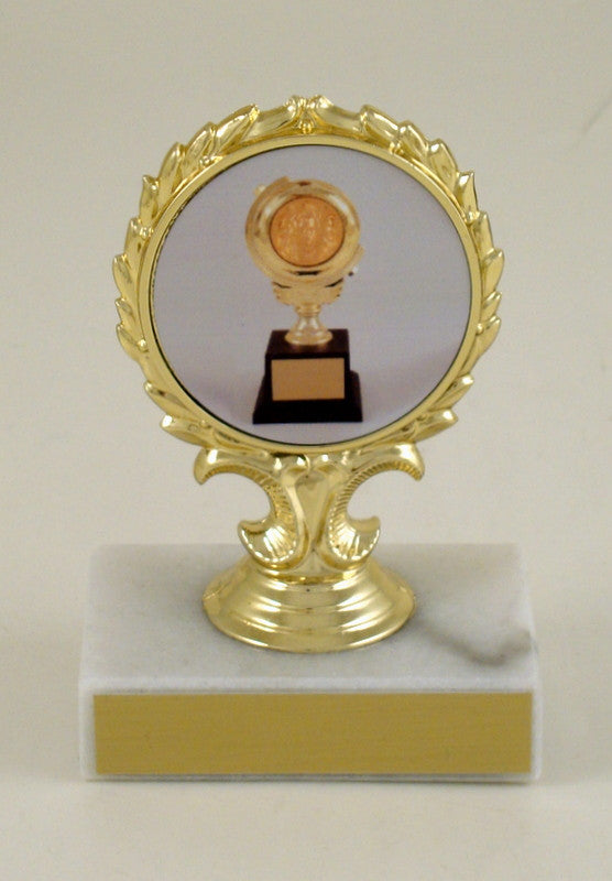 Toni Award on White Marble Base