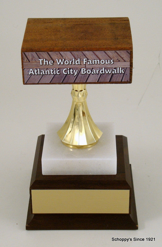 Genuine Atlantic City Boardwalk Trophy - Large-Trophy-Schoppy's Since 1921