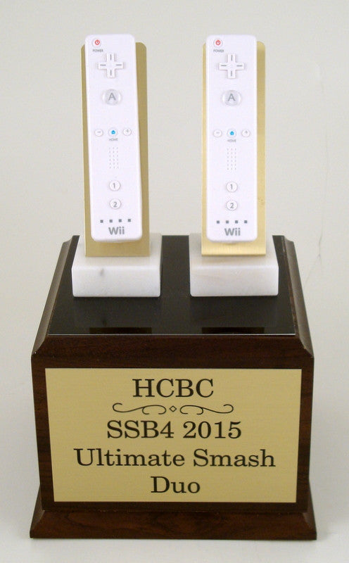 Double Wii Trophy-Trophies-Schoppy's Since 1921