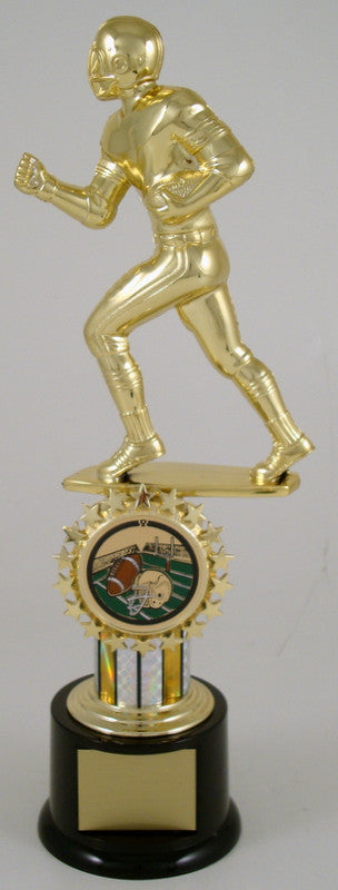 Football Jumbo Logo Trophy-Trophy-Schoppy's Since 1921