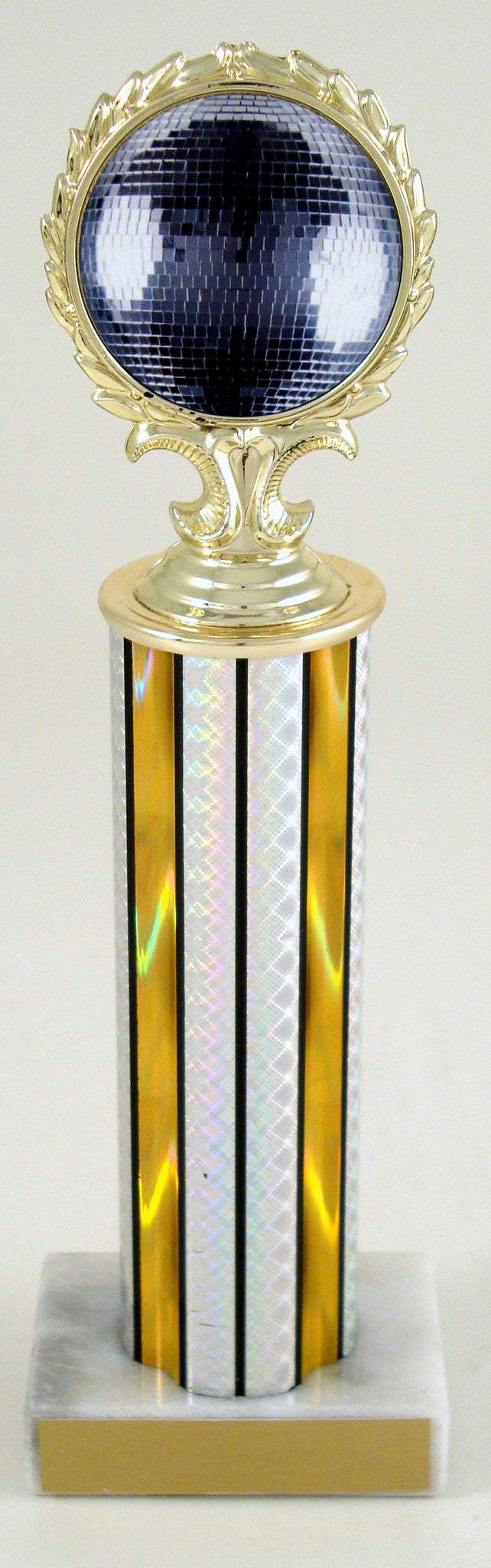 Disco Ball Medallion Column Trophy-Trophies-Schoppy's Since 1921