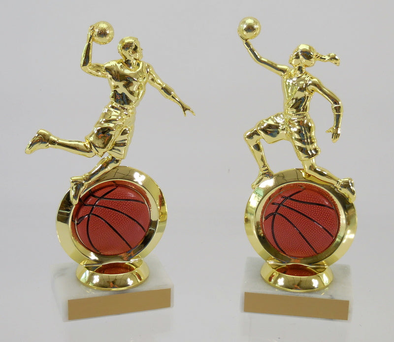 Basketball Logo Insert Figure Trophy-Trophy-Schoppy's Since 1921