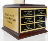 Fantasy Football Chrome Trophy-Trophies-Schoppy's Since 1921