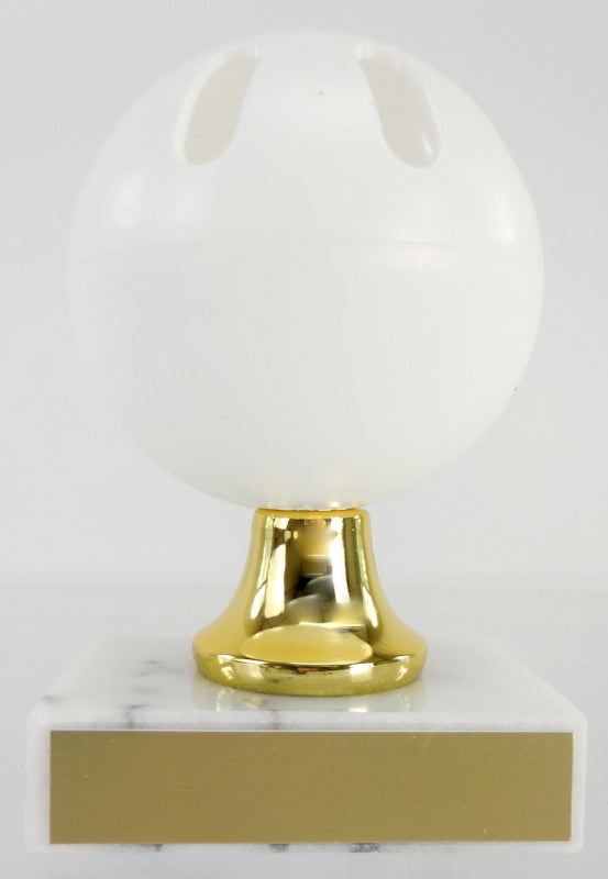 Wiffle Ball Trophy on Marble Base