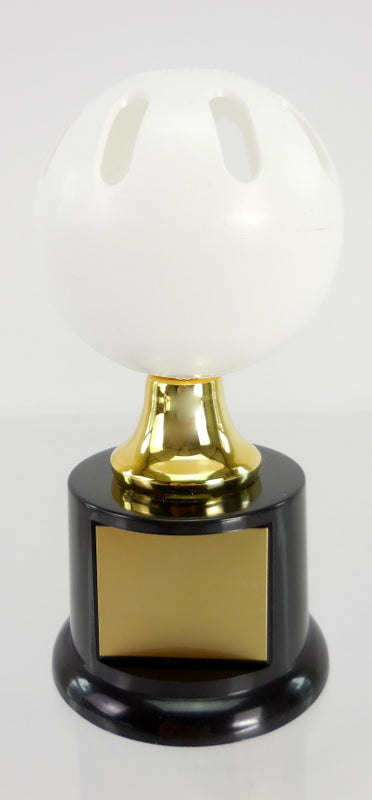 Wiffle Ball Trophy on Black Round Base