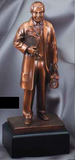 Doctor American Hero Electroplated Resin Sculpture-Trophies-Schoppy's Since 1921