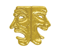 Drama Mask Chenille Pin-Pin-Schoppy's Since 1921