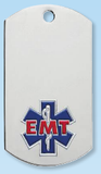 EMT Dog Tag Necklace-Jewelry-Schoppy's Since 1921