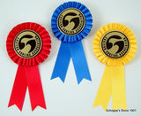 Surf Logo Rosette Ribbon - Second Place-Ribbon-Schoppy's Since 1921