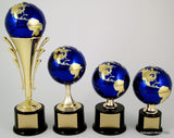Earth Day Globe on Lg. Base-Trophies-Schoppy's Since 1921