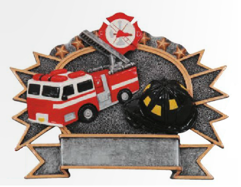 Fire Department Stand Up Resin