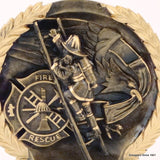 Fireman Resin Plate-Trophies-Schoppy's Since 1921