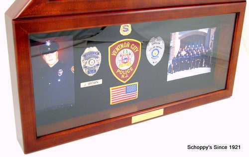 Flag Display Case with Shadow Box