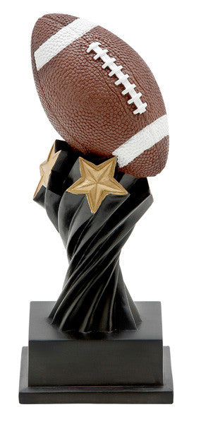 Football Tempest Resin Trophy-Trophies-Schoppy's Since 1921