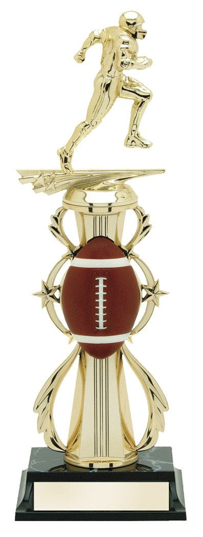 Football Pre-Built All-Star Trophy-Trophies-Schoppy's Since 1921