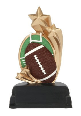 Football Star Resin-Trophies-Schoppy's Since 1921