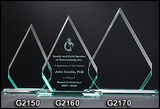 Glass Award - Lg. Diamond-Glass & Crystal Award-Schoppy's Since 1921