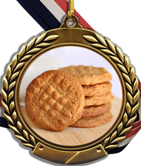 Cookie Logo Medal-Medals-Schoppy's Since 1921