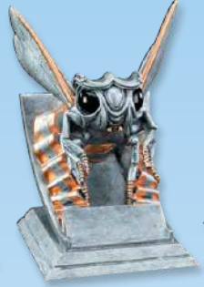 Hornet Mascot Resin Trophy-Trophies-Schoppy's Since 1921