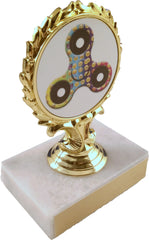 Spinning Fidget Spinner Trophy On Marble-Trophy-Schoppy's Since 1921