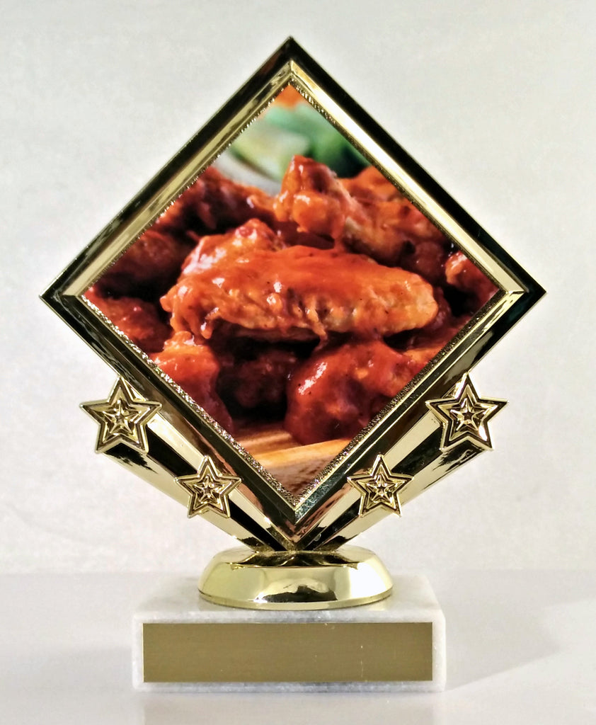 Hot Wing Diamond Star Trophy