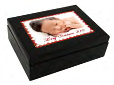 Keepsake Box with Photo Top
