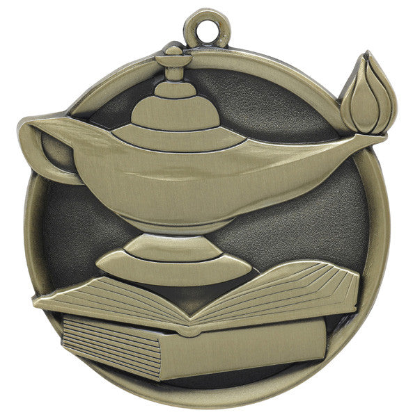 Lamp of Learning Mega Medal-Medals-Schoppy's Since 1921