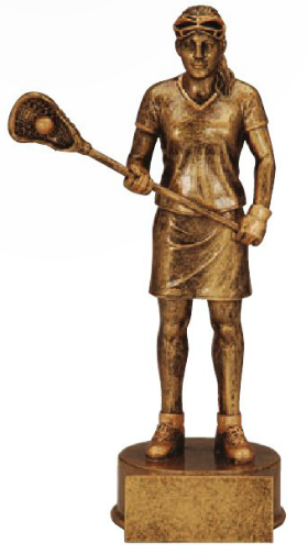 Lacrosse Resin Champion Trophy Female