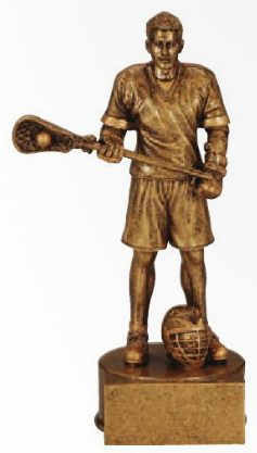 Lacrosse Resin Champion Trophy Male
