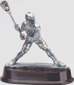 Lacrosse Shooter Resin Trophy - Male-Trophies-Schoppy's Since 1921
