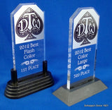 Logo Stand Up Acrylic Trophy Medium-Trophies-Schoppy's Since 1921