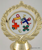 Math Logo Trophy-Trophies-Schoppy's Since 1921