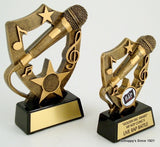 Microphone Resin Trophy-Trophies-Schoppy's Since 1921