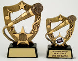 Lg. Microphone Resin Trophy-Trophies-Schoppy's Since 1921