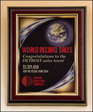 Full Color High Gloss Mahogany Frame Plaque-Plaque-Schoppy's Since 1921