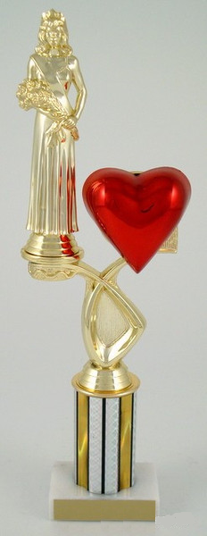 Sweetheart Riser Trophy - Medium-Trophies-Schoppy's Since 1921