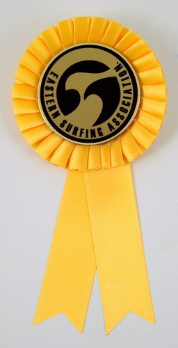 Surf Logo Rosette Ribbon - Third Place-Ribbon-Schoppy's Since 1921