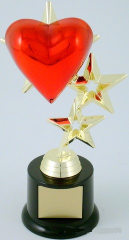 Heart Triple Star Trophy
