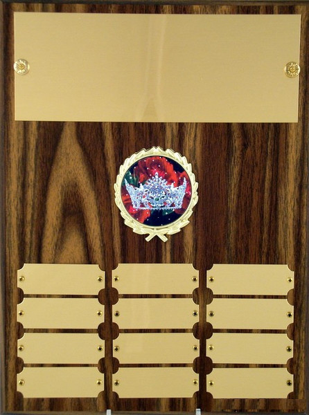 Pageant Perpetual Plaque B