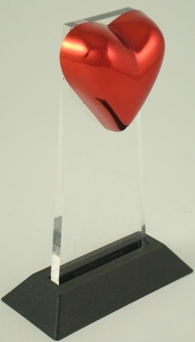 Heart Acrylic Award-Acrylic-Schoppy's Since 1921