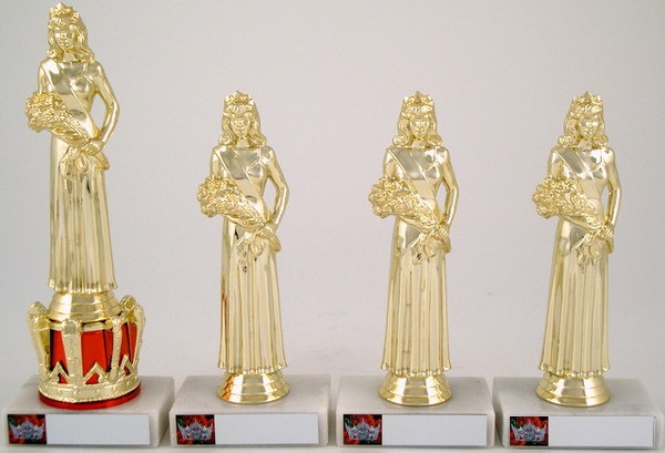 Pageant Crown Riser Trophy Set-Trophies-Schoppy's Since 1921