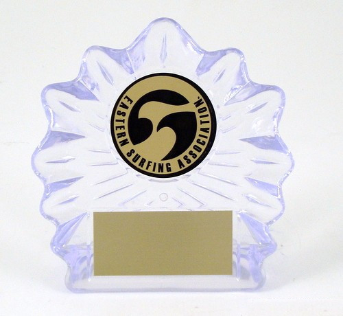 Surf Logo Large Shell Trophy-Trophies-Schoppy's Since 1921