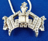 Medium Crown Charm Necklace-Jewelry-Schoppy's Since 1921
